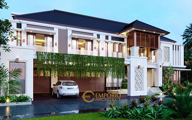 Mr. Hadi Villa Bali House 3 Floors Design - Medan, Sumatera Utara