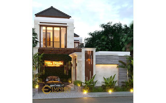 Desain Villa Style Villa Bali 2 Lantai Bapak Koming di  Mengwi, Badung, Bali