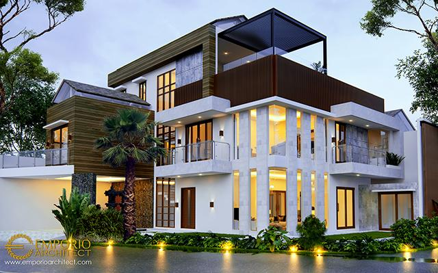 Mr. Joky Modern House 3 Floors Design - Munggu, Badung, Bali