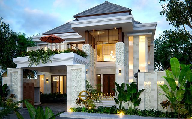 Desain Rumah Villa Bali 2 Lantai Bapak Rivan di  Nusa Dua, Bali