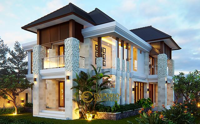 Mrs. Suli Villa Bali House 2 Floors Design - Palangka Raya