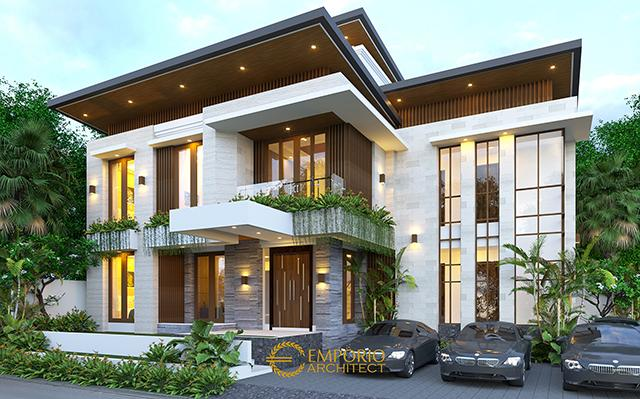 Mrs. Ristina Modern Boarding House 2 Floors Design - Palembang