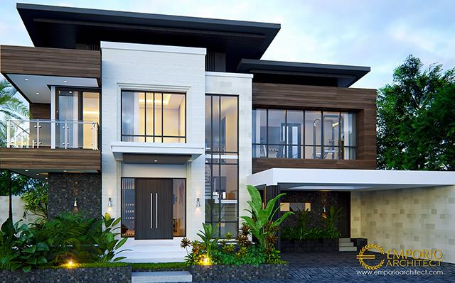 Mr. Ivan Modern House 2 Floors Design - Palembang