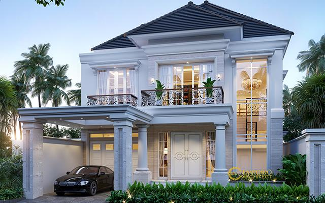 Mrs. Lily Classic House 2 Floors Design - Palembang