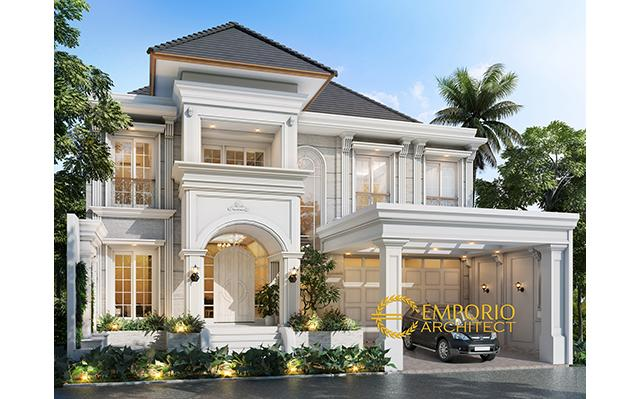 Mr. Dody Classic House 2 Floors Design - Pekanbaru, Riau