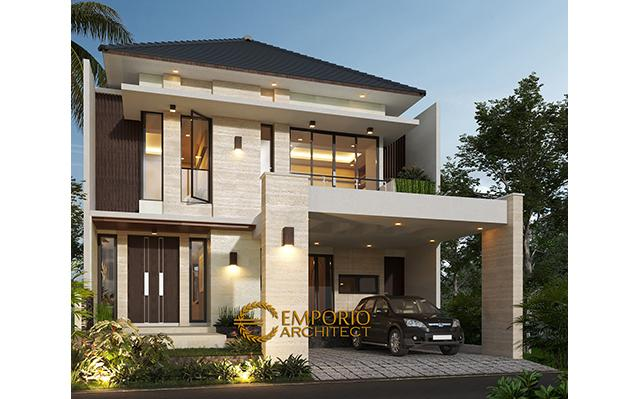 Mrs. Ifa Modern House 2 Floors Design - Pekanbaru, Riau