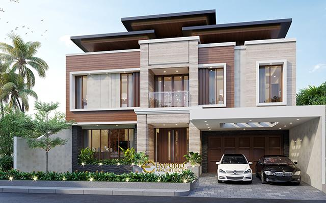 Mr. Harris Modern House 2 Floors Design - Pekanbaru, Riau