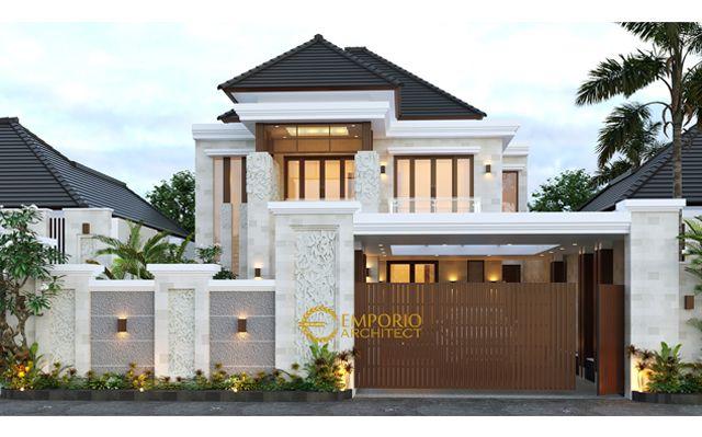 Mrs. Sulistya Villa Bali House 2 Floors Design - Pekanbaru, Riau