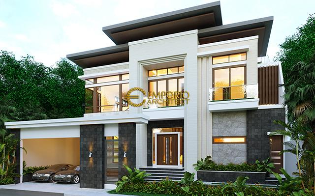 Mr. Edwin Modern House 2 Floors Design - Pontianak