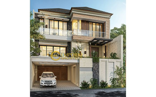 Desain Rumah Modern 3 Lantai Bapak Deni di  Pulomas, Jakarta Timur