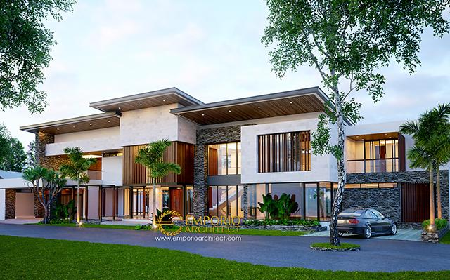 Mr. Jafar Modern Villa 2 Floors Design - Purwakarta