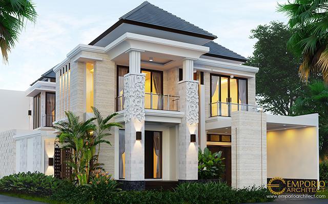 Desain Rumah Villa Bali 2 Lantai Bapak Hari di  Sanur, Bali