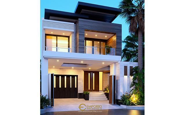 Mrs. Via Modern House 2 Floors Design - Semarang