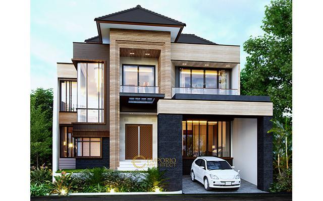 Desain Rumah Modern 2 Lantai Bapak Kiki di  Semarang, Jawa Tengah
