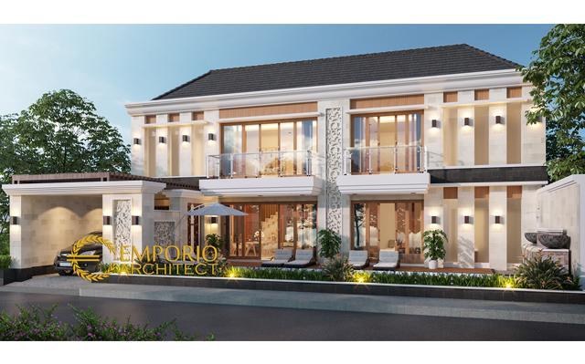 Desain Rumah Villa Bali 2 Lantai Bapak Freddy di  Seminyak, Badung, Bali