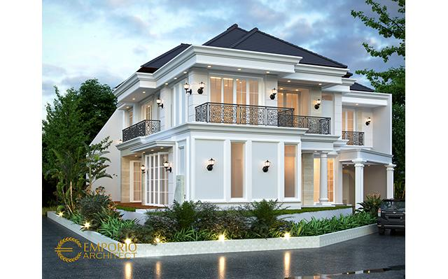 Mr. Saifudin Classic House 2 Floors Design - Serang, Banten