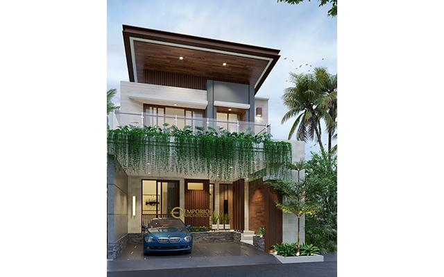 Mr. Adam Modern House 3 Floors Design -Serpong, Banten
