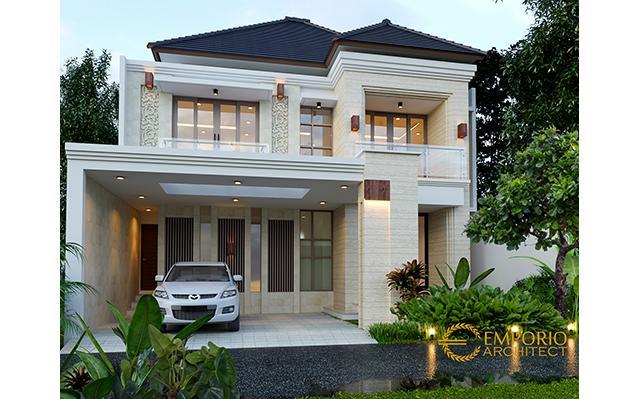 Desain Rumah Villa Bali 2 Lantai Bapak Fahmi II di  Sidoarjo, Jawa Timur