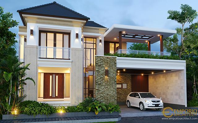 Mr. Hasyim Villa Bali House 2 Floors Design - Singaraja, Bali