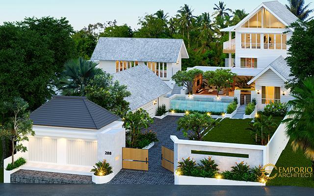 Desain Rumah Unik 2 Lantai Bapak Joky II di  Singaraja, Bali