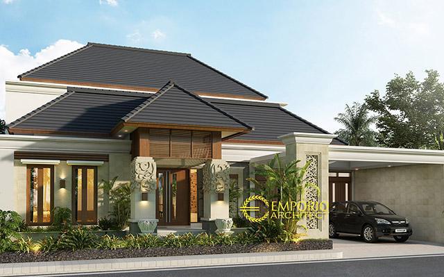 Mrs. Rika Villa Bali House 2 Floors Design - Sorong, Papua Barat