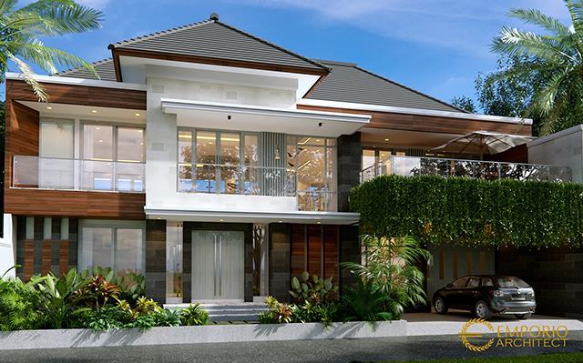 Desain Rumah Modern 2 Lantai Bapak Hence di  Sukoharjo, Jawa Tengah