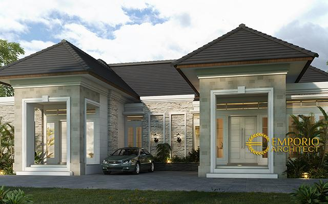 Mrs. Winda Classic House 2 Floors Design - Sumatera Barat