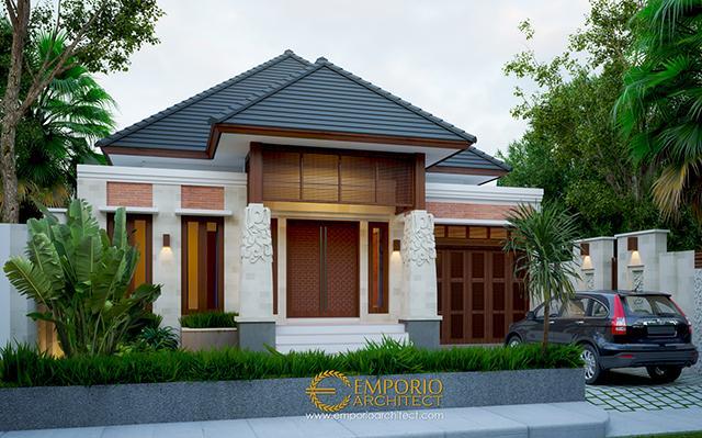 Mr. Ammal Rozib Villa Bali House 1 Floor Design - Sumatera Selatan