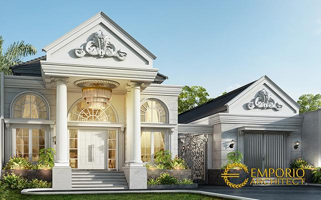 Mrs. Resha Classic House 1 Floor Design - Sumatera Selatan