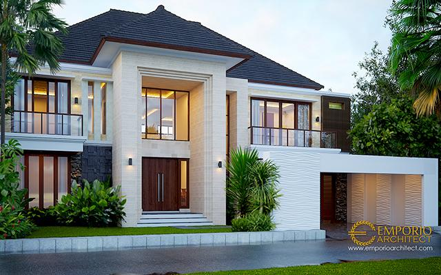 Mr. Nelson Modern House 2 Floors Design - Sumatera Utara