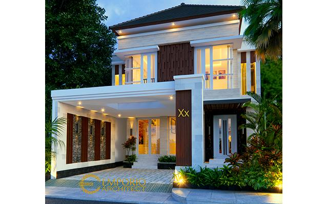 Mr. Agus Sofyan Villa Bali House 2 Floors Design - Surabaya