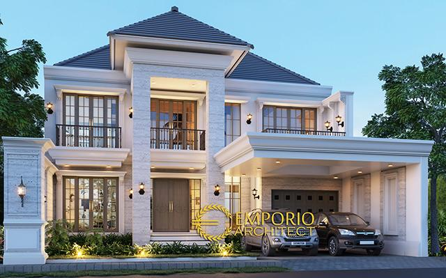 Mr. Andy Classic House 2 Floors Design - Surabaya