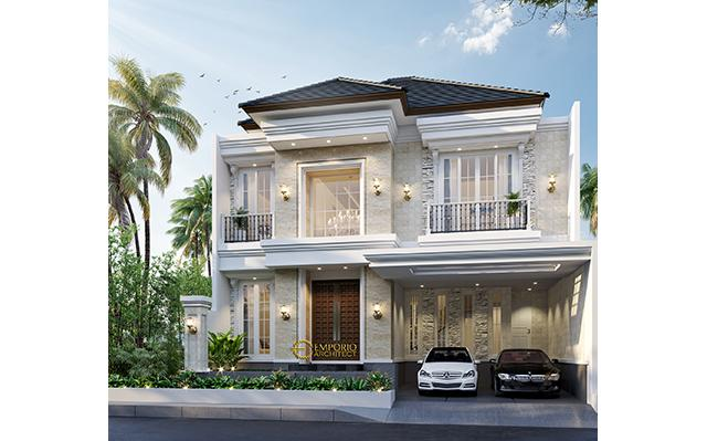 Mr. Haidar Classic House 2 Floors Design - Surabaya