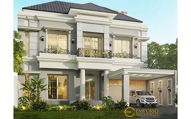 Mr. Hasan Classic House 2 Floors Design - Surabaya
