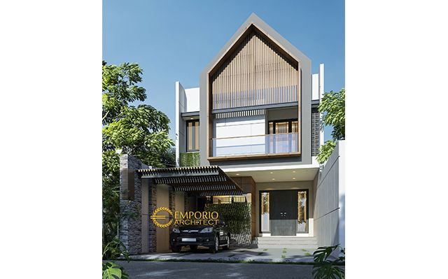 Mrs. Ratih Modern House 2 Floors Design - Surabaya