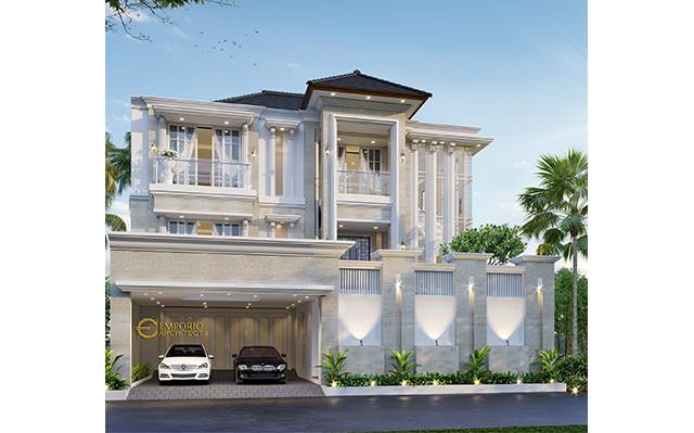 Mrs. Siska Classic House 2 Floors Design - Tangerang