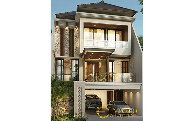 Mrs. Rahmi Modern House 3 Floors Design - Tangerang