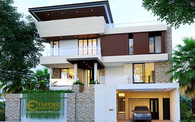 Mrs. Shirly Modern House 3 Floors Design - Tangerang