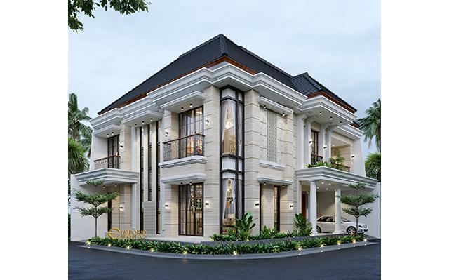 Mrs. Susan Classic House 2 Floors Design - Tangerang