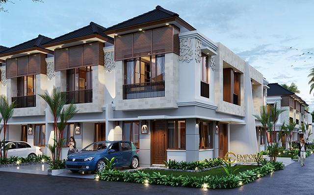 Desain Perumahan Villa Bali The Wimala by Gemintang Land di  Tangerang Selatan, Banten