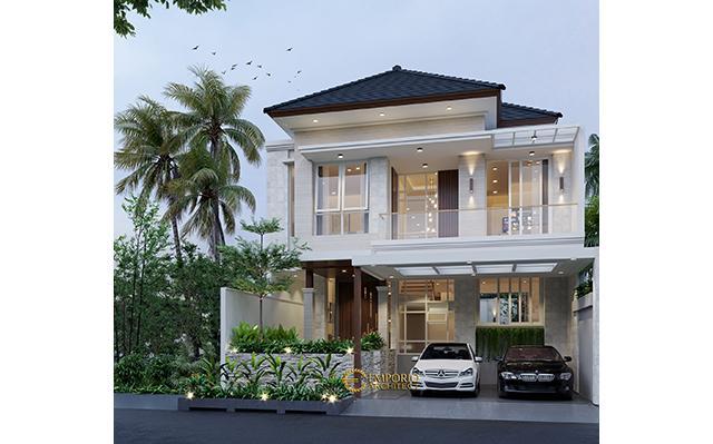 Mr. Ngurah Indira Modern House 2 Floors Design - Tangerang Selatan, Banten