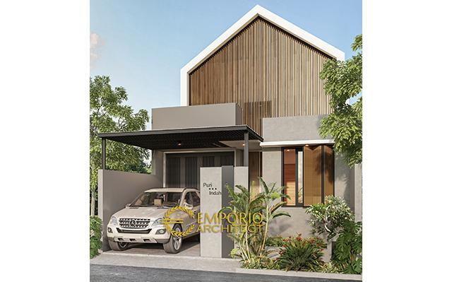 Desain Rumah Modern 1 Lantai Type 86  di  Bintaro, Tangerang Selatan, Banten