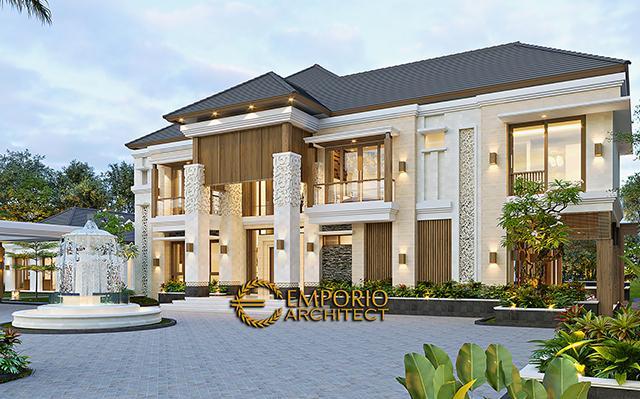 Desain Rumah Villa Bali 2 Lantai Mr. Mohamoud di  Tanzania