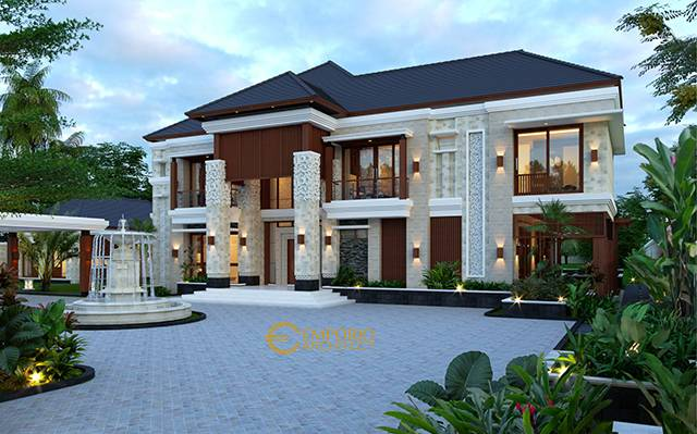 Mr. Mohamoud Villa Bali House 2 Floors Design - Tanzania