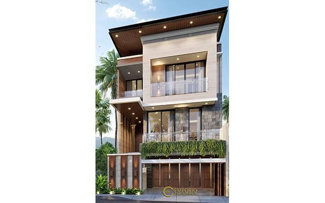 Mr. Aprian Modern House 3 Floors Design - Yogyakarta