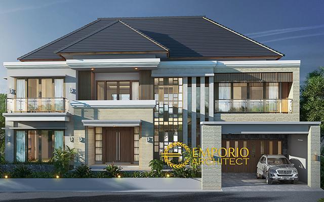 Mr. Muhammad Karim Villa Bali House 2 Floors Design - Yogyakarta