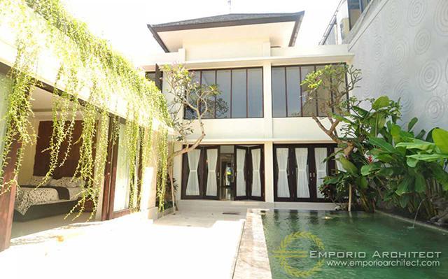 Hasil Konstruksi Rumah Bapak Artana di  Denpasar, Bali