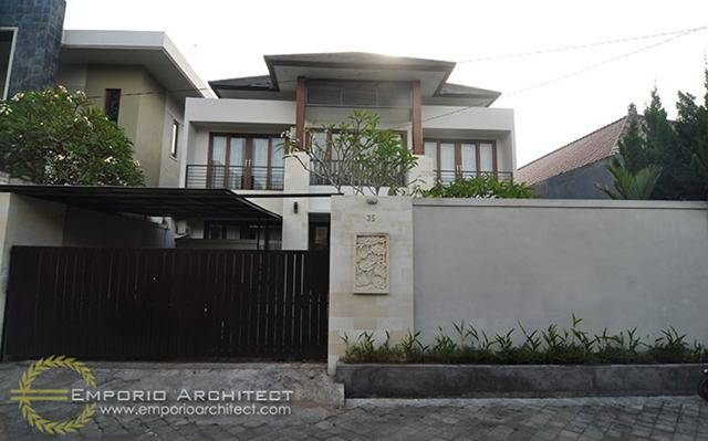 Construction Result of Dr. Krisna Private House - Denpasar, Bali