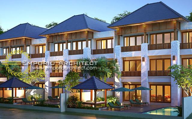 Desain Volcom Residence Style Villa Bali 3 Lantai di  Jimbaran, Bali