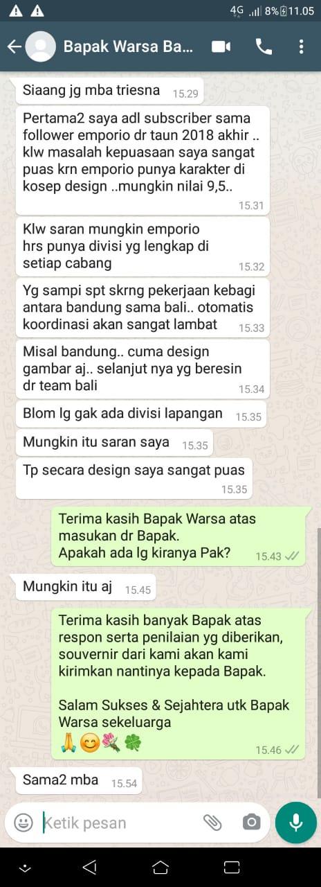 Testimonial Mr. Warsa Villa Bali House 2 Floors Design - Bandung